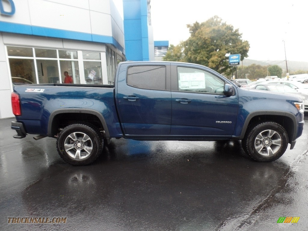 2020 Colorado Z71 Crew Cab 4x4 - Pacific Blue Metallic / Jet Black photo #10