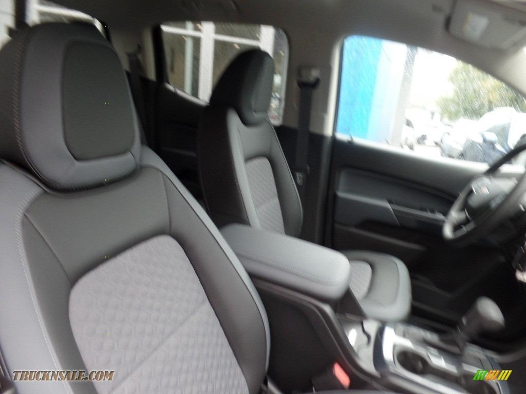 2020 Colorado Z71 Crew Cab 4x4 - Pacific Blue Metallic / Jet Black photo #14
