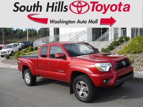 Barcelona Red Metallic 2013 Toyota Tacoma V6 TRD Sport Access Cab 4x4