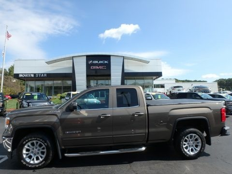 Bronze Alloy Metallic 2015 GMC Sierra 1500 SLE Double Cab 4x4