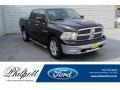 Dodge Ram 1500 SLT Crew Cab Brilliant Black Crystal Pearl photo #1