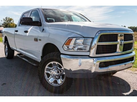 Bright White 2012 Dodge Ram 2500 HD ST Crew Cab 4x4