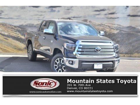 Midnight Black Metallic 2020 Toyota Tundra Limited CrewMax 4x4