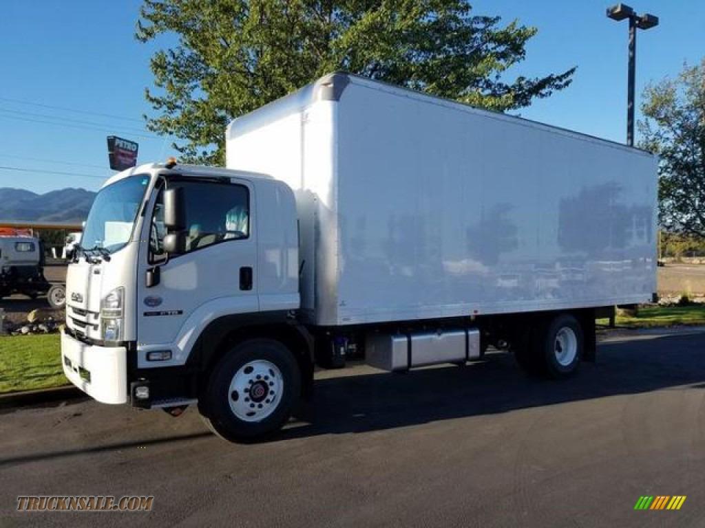 2019 F Series Truck FTR Van - White / Gray photo #1