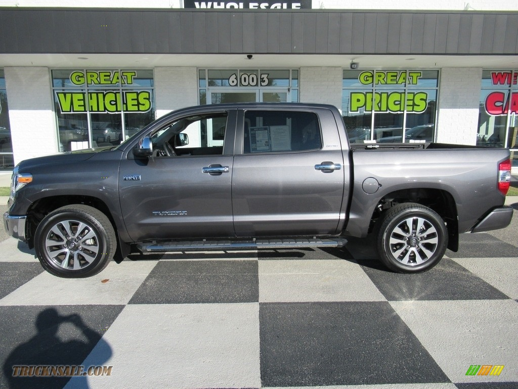 2019 Tundra Limited CrewMax 4x4 - Magnetic Gray Metallic / Graphite photo #1