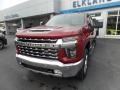 Chevrolet Silverado 2500HD LTZ Crew Cab 4x4 Cajun Red Tintcoat photo #3