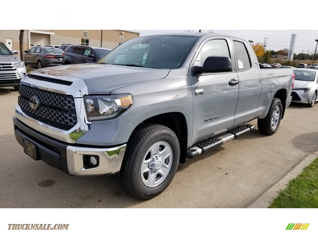 2020 Tundra SR5 Double Cab 4x4 - Cement / Graphite photo #1
