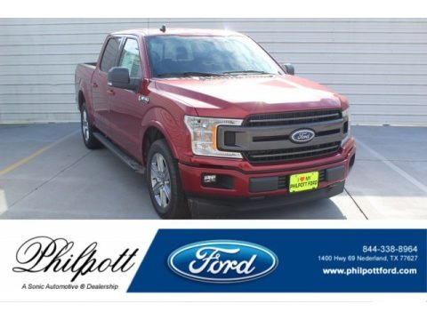 Ruby Red 2019 Ford F150 XL SuperCrew