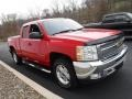 Chevrolet Silverado 1500 LT Extended Cab 4x4 Victory Red photo #9