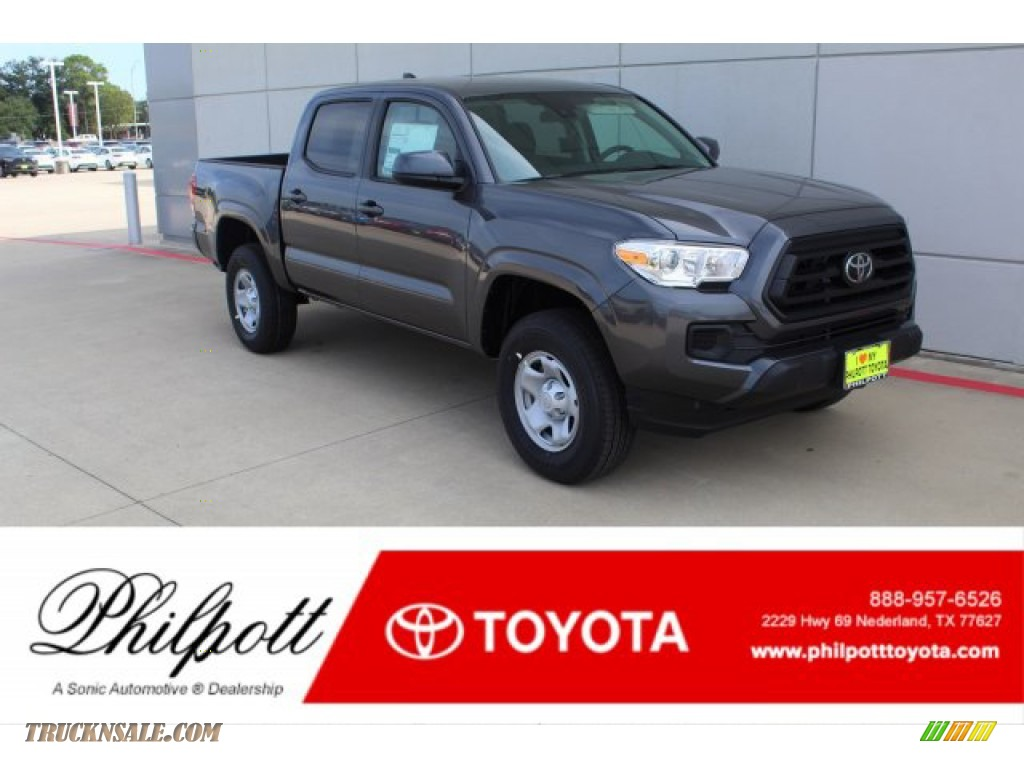 2020 Tacoma SR Double Cab - Magnetic Gray Metallic / Cement photo #1