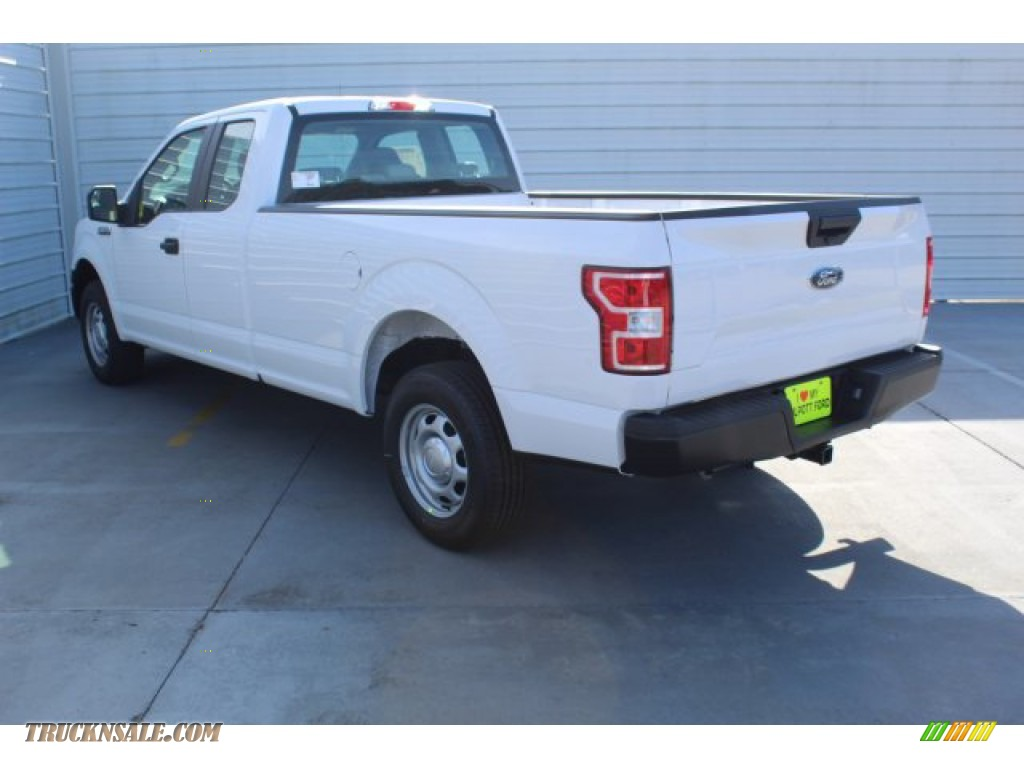 2019 F150 XL SuperCab - Oxford White / Earth Gray photo #6
