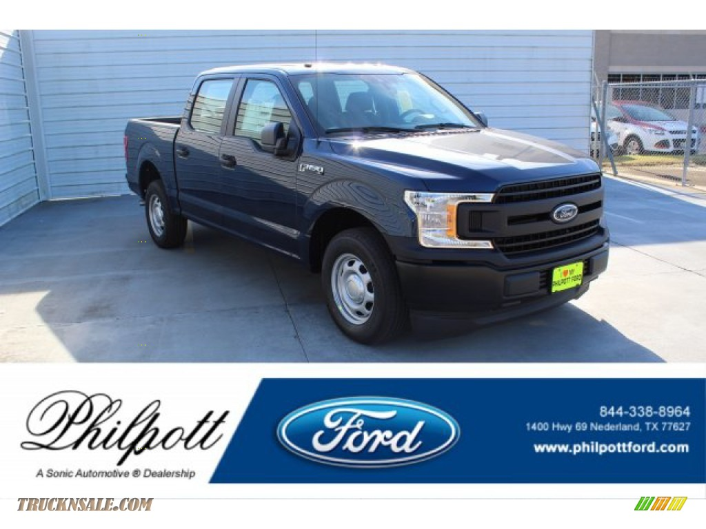 Blue Jeans / Earth Gray Ford F150 XL SuperCrew
