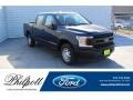 Ford F150 XL SuperCrew Blue Jeans photo #1