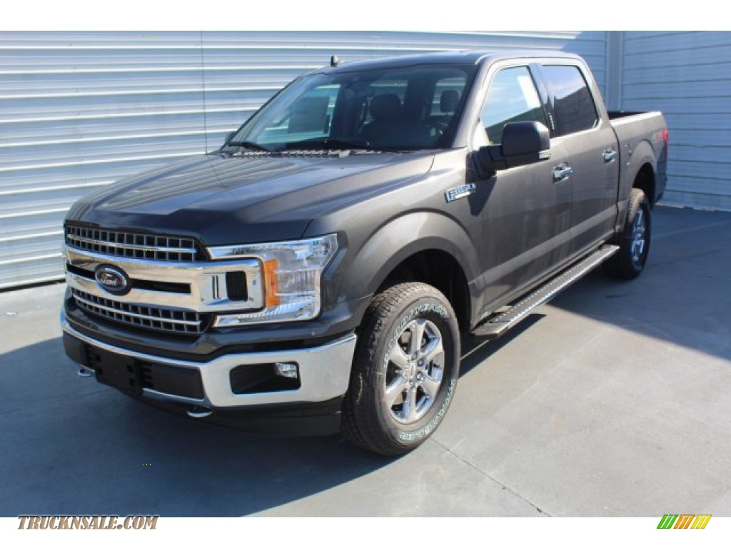 2019 F150 XLT SuperCrew 4x4 - Magnetic / Earth Gray photo #4