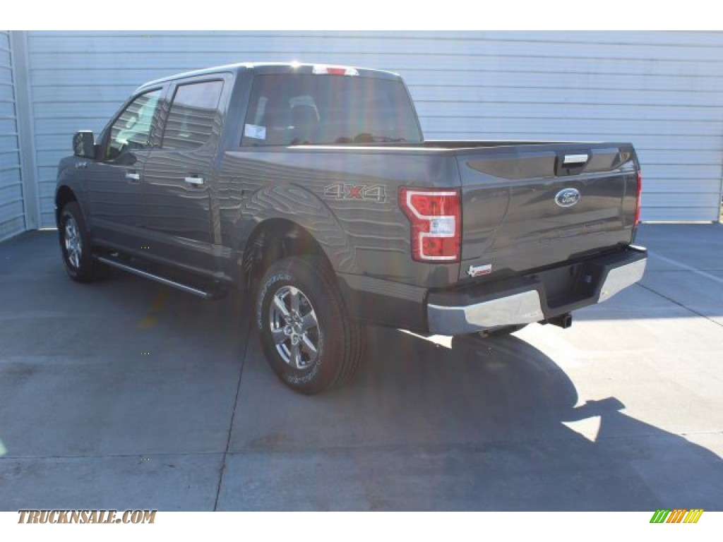 2019 F150 XLT SuperCrew 4x4 - Magnetic / Earth Gray photo #6