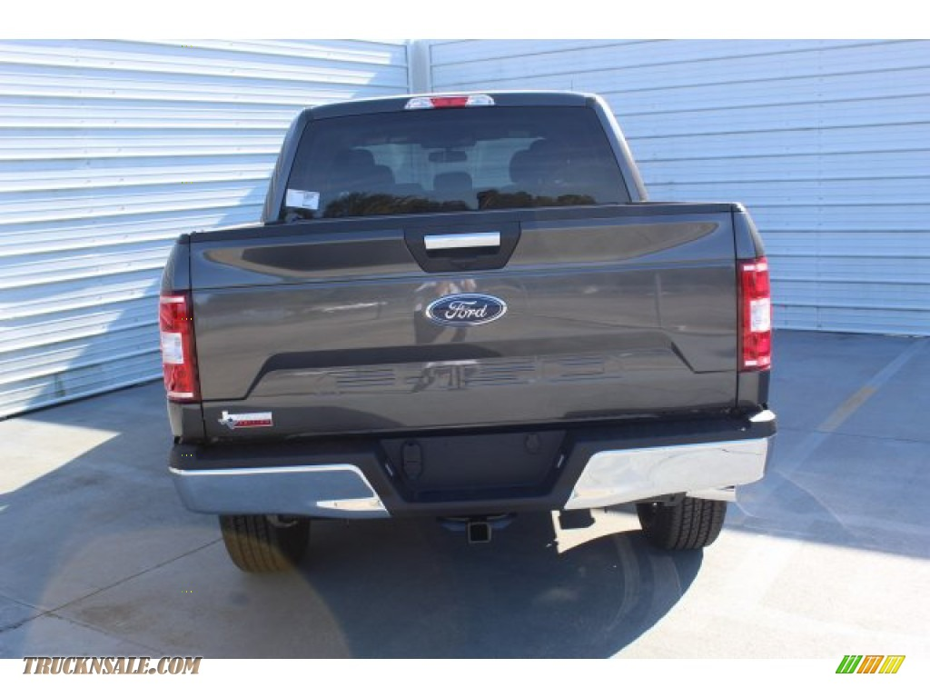 2019 F150 XLT SuperCrew 4x4 - Magnetic / Earth Gray photo #7