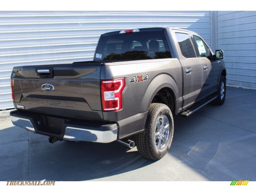 2019 F150 XLT SuperCrew 4x4 - Magnetic / Earth Gray photo #8