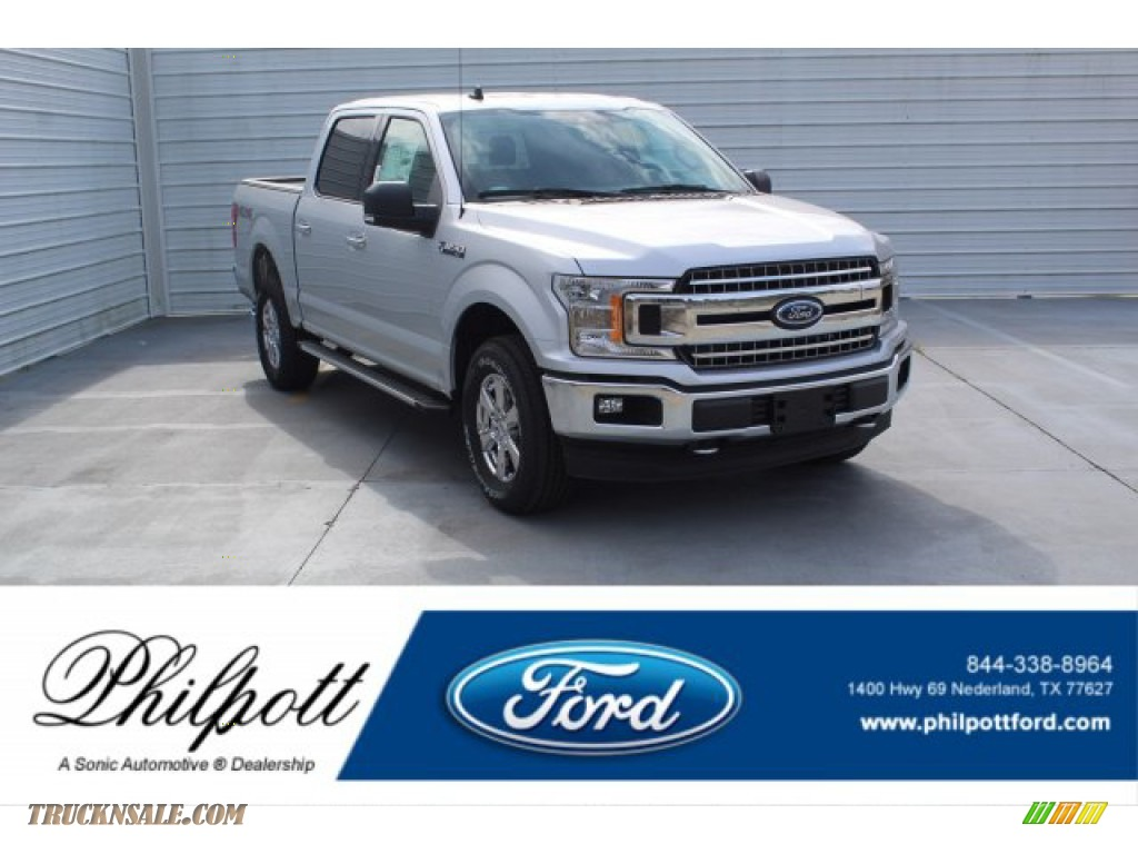 Ingot Silver / Earth Gray Ford F150 XLT SuperCrew 4x4