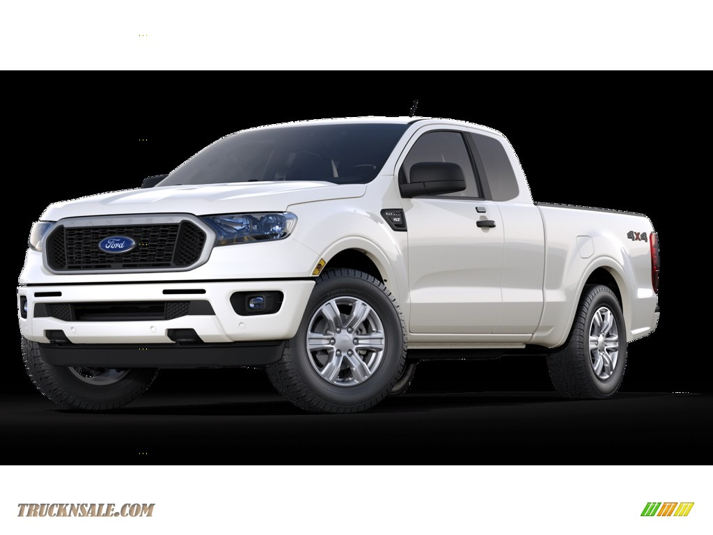 2019 Ranger XLT SuperCab 4x4 - Oxford White / Ebony photo #1