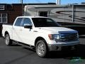 Ford F150 Lariat SuperCrew Oxford White photo #7