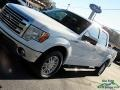 Ford F150 Lariat SuperCrew Oxford White photo #31