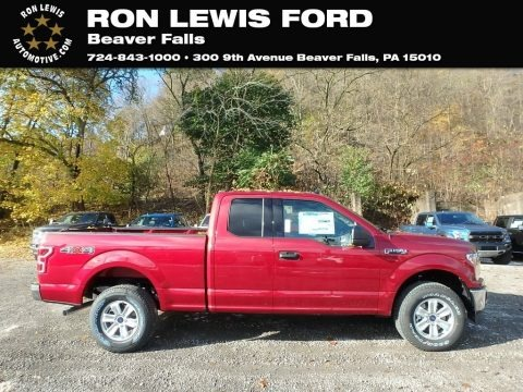 Ruby Red 2019 Ford F150 XLT SuperCab 4x4