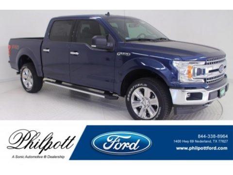 Blue Jeans 2019 Ford F150 XLT SuperCrew 4x4