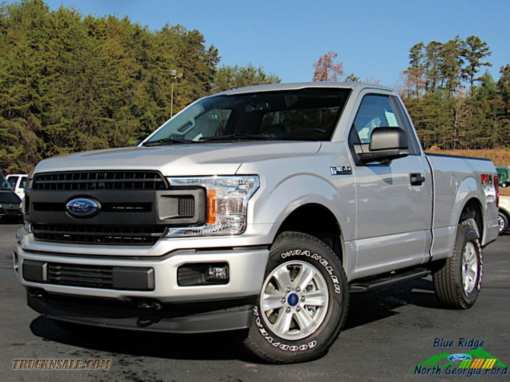 Ingot Silver / Earth Gray Ford F150 XL Regular Cab 4x4