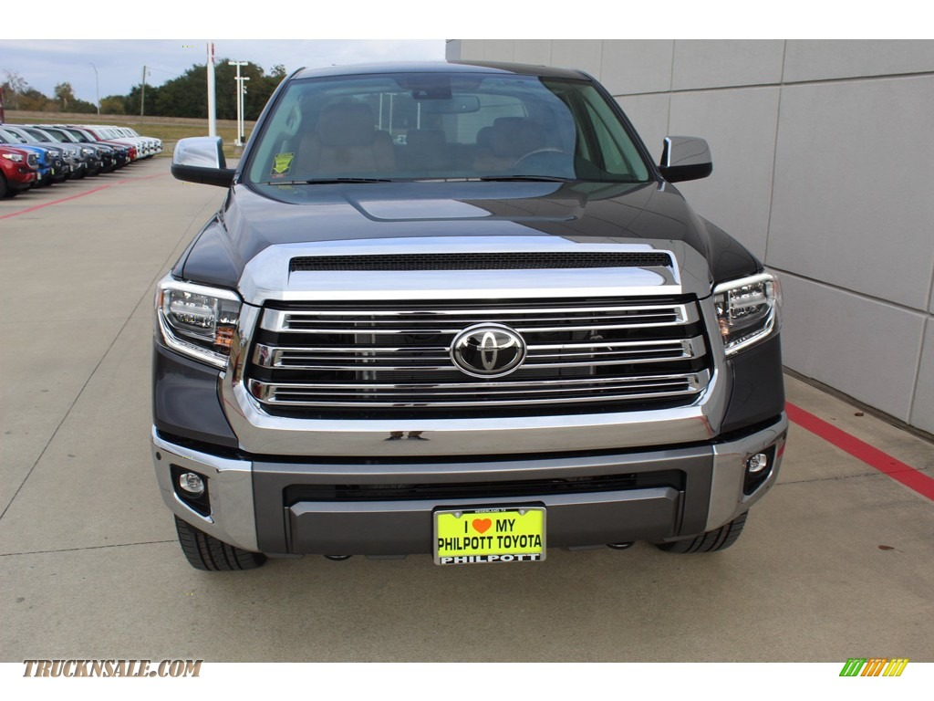2020 Tundra 1794 Edition CrewMax 4x4 - Magnetic Gray Metallic / 1794 Edition Brown/Black photo #3