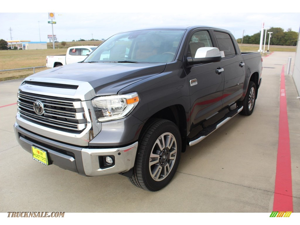 2020 Tundra 1794 Edition CrewMax 4x4 - Magnetic Gray Metallic / 1794 Edition Brown/Black photo #4