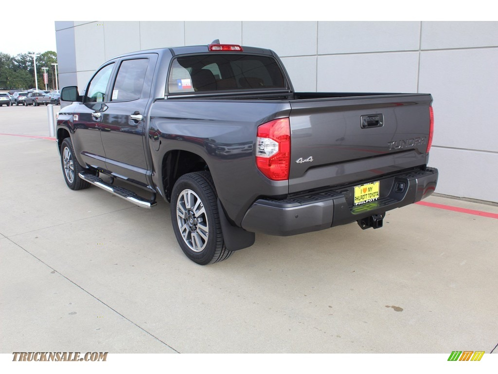 2020 Tundra 1794 Edition CrewMax 4x4 - Magnetic Gray Metallic / 1794 Edition Brown/Black photo #6