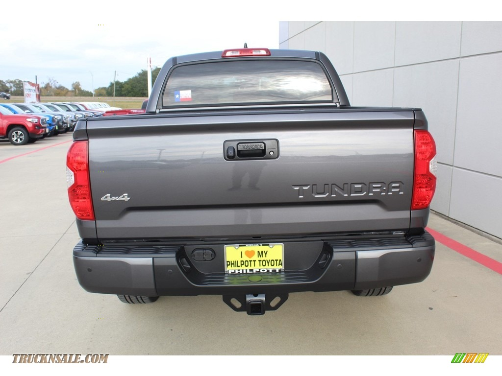 2020 Tundra 1794 Edition CrewMax 4x4 - Magnetic Gray Metallic / 1794 Edition Brown/Black photo #7