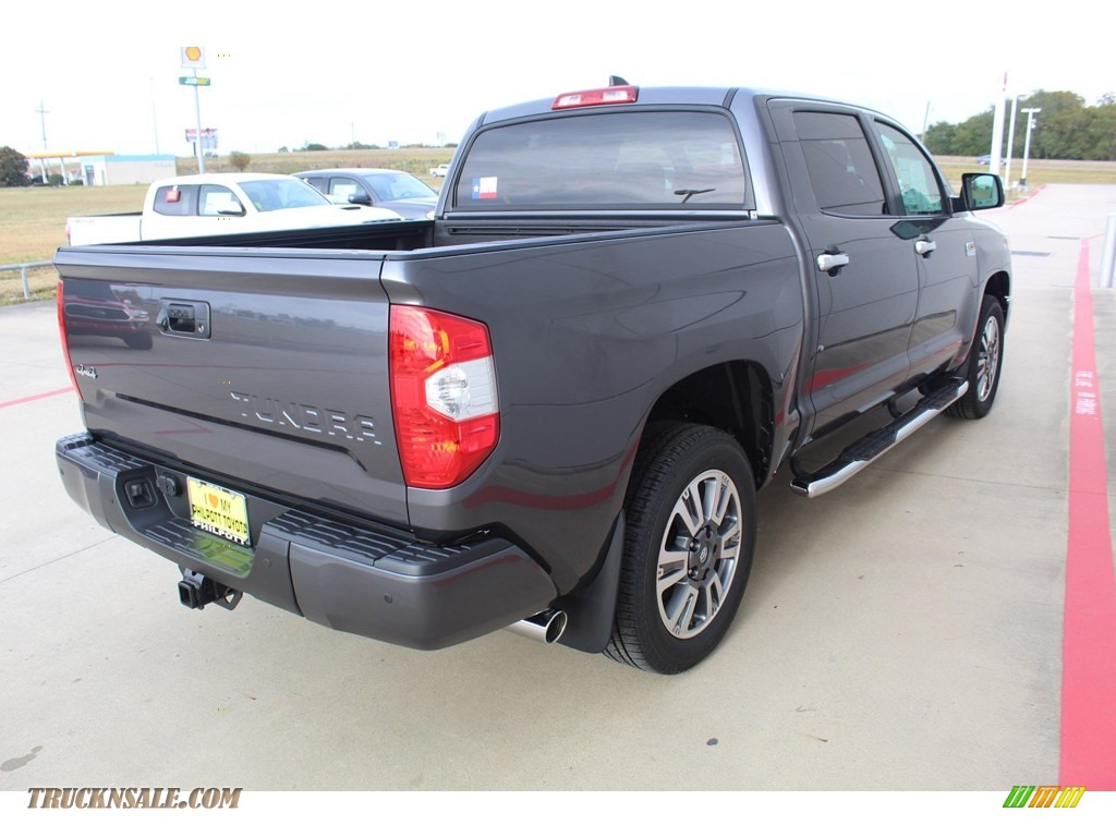 2020 Tundra 1794 Edition CrewMax 4x4 - Magnetic Gray Metallic / 1794 Edition Brown/Black photo #8