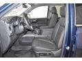 GMC Sierra 1500 SLT Crew Cab 4WD Pacific Blue Metallic photo #5