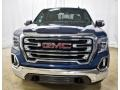 GMC Sierra 1500 SLT Crew Cab 4WD Pacific Blue Metallic photo #13