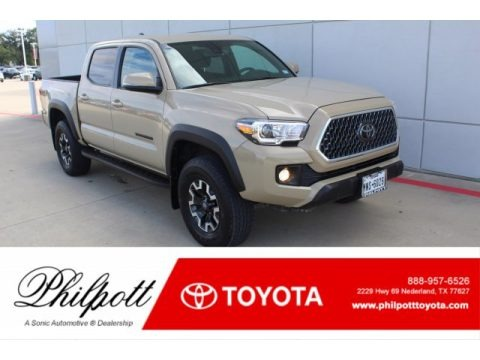 Quicksand 2019 Toyota Tacoma TRD Off-Road Double Cab 4x4
