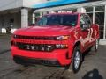 Chevrolet Silverado 1500 Custom Crew Cab 4x4 Red Hot photo #3