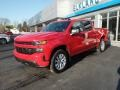 Chevrolet Silverado 1500 Custom Crew Cab 4x4 Red Hot photo #4