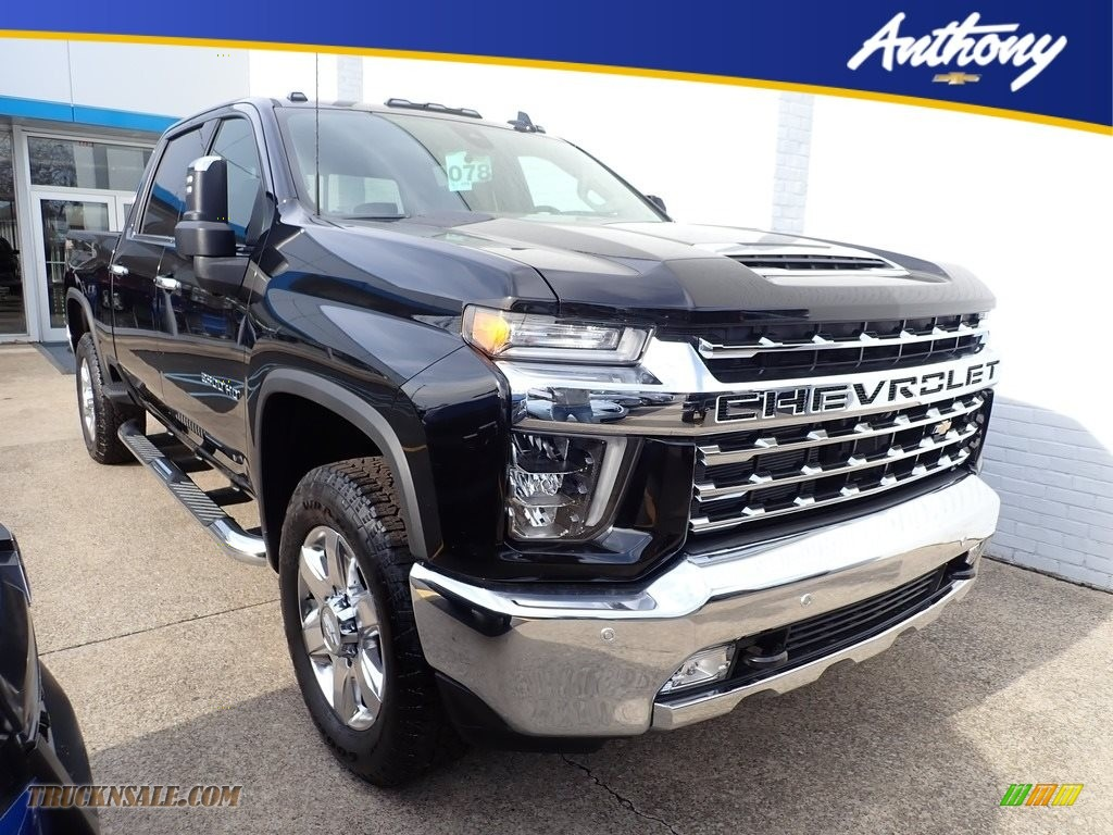 2020 Silverado 2500HD LTZ Crew Cab 4x4 - Black / Jet Black photo #1