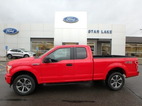 Race Red 2019 Ford F150 STX SuperCab 4x4