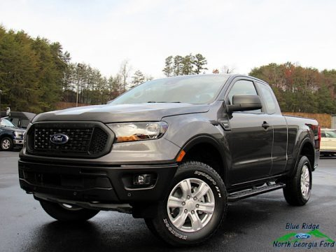 Magnetic Metallic 2019 Ford Ranger STX SuperCab 4x4