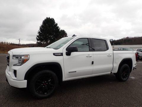 Summit White 2020 GMC Sierra 1500 Elevation Crew Cab 4WD