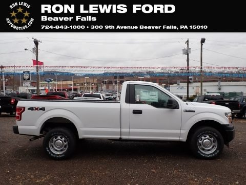 Oxford White 2020 Ford F150 XL Regular Cab 4x4