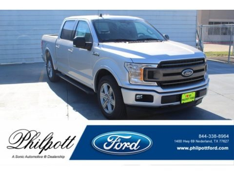 Ingot Silver 2019 Ford F150 XLT SuperCrew