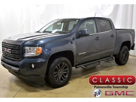 Dark Sky Metallic 2020 GMC Canyon SLE Crew Cab 4WD