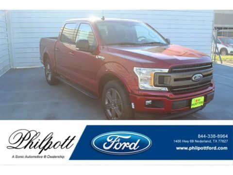 Rapid Red 2020 Ford F150 XLT SuperCrew