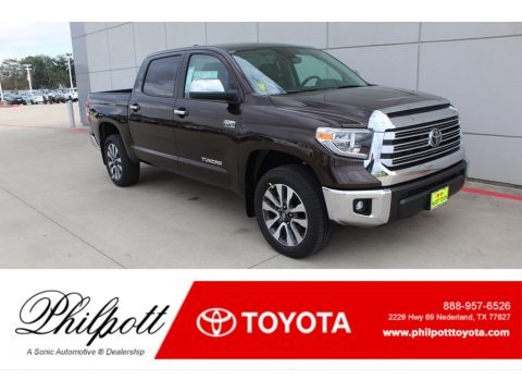 Smoked Mesquite 2020 Toyota Tundra Limited CrewMax 4x4