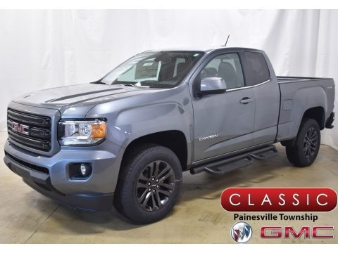 Satin Steel Metallic 2020 GMC Canyon SLE Extended Cab 4WD
