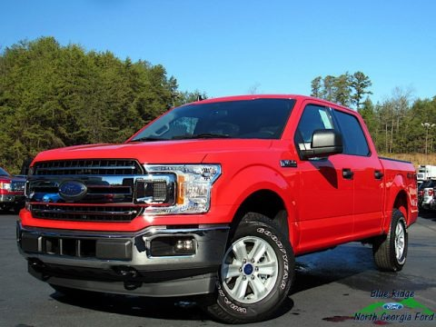 Race Red 2020 Ford F150 XLT SuperCrew 4x4