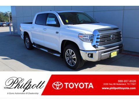 Super White 2020 Toyota Tundra 1794 Edition CrewMax 4x4